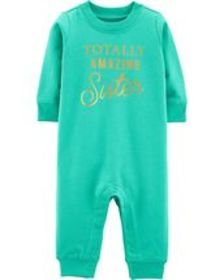 Baby Girl Totally Amazing Jumpsuit