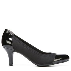 LifeStride Women's Parigi Stretch Medium/Wide Pump