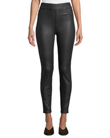 Jen7 by 7 for All Mankind Napa Leather-Like Ponte
