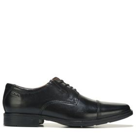 Clarks Men's Tilden Medium/Wide Cap Toe Oxford Sho