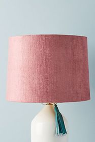 Solid Velvet Lamp Shade
