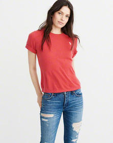 Cashmere T-Shirt, RED