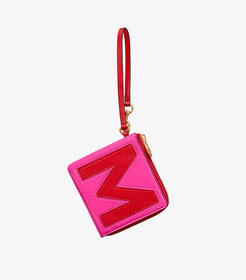 MONOGRAM CARD CASE KEY RING
