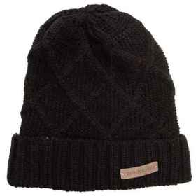 Rainforest Jersey-Lined Marled Cable-Knit Beanie i