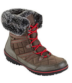 Women's Snow Harbor Synthetic Quilted Ankle Boots,