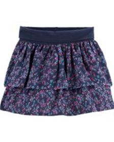 Baby Girl Tiered Floral Skirt