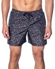 Jared Lang Men's Rhino Print Swim Trunks