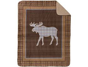 White River Micromink Sherpa Throws