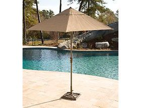 Cabela's Rugged Outdoor Patio Umbrella and Base
