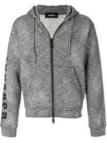 Dsquared2 paint splattered hoodie