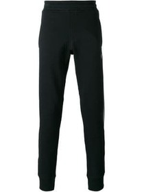 Lanvin grosgrain band track pants