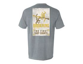 Browning® Men's First Shot Counts Short-Sleeve Tee