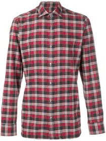 Z Zegna Diego gingham buttoned shirt