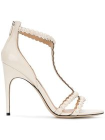 Sergio Rossi pear embellished heels