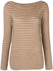 Max Mara textured stripe sweater
