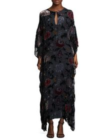 Adam Lippes Adam Lippes Floral Caftan Gown~1411803