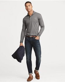 Polo Ralph Lauren Classic Fit Long-Sleeve Polo