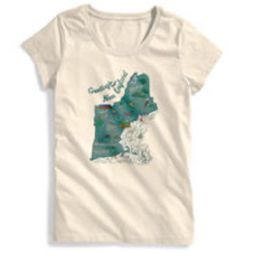 EMS Women's Visit New England Graphic Tee
