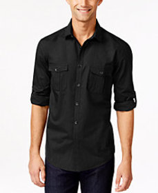 Alfani Men's Warren Long Sleeve Shirt, Created for
