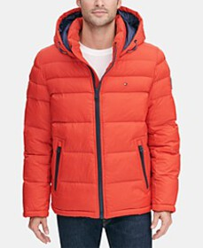 Tommy Hilfiger Men's Quilted Puffer Jacket, Create