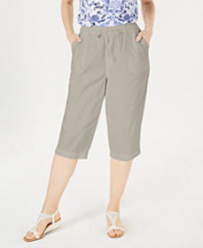 Karen Scott Cotton Cropped Pants, Created for Macy