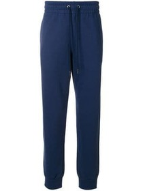 Versace drawstring waistband trousers