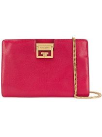 Givenchy flat grained evening clutch