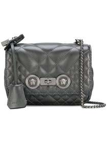 Versace small quilted Icon crossbody bag