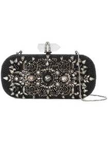 Marchesa beaded clutch bag