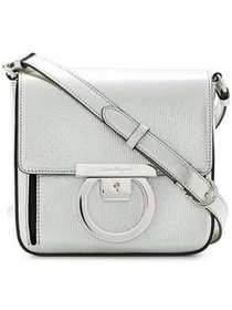Salvatore Ferragamo Gancini lock shoulder bag