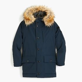 Nordic down parka with eco-friendly Primaloft®