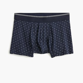 J. Crew Stretch dotted trunks