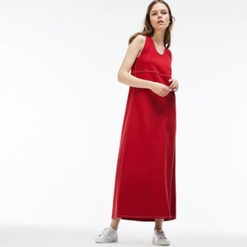 Women's Stretch Milano Knit Long Dress