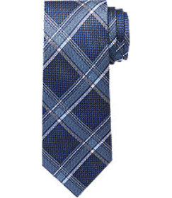 Reserve Collection Basketweave Plaid Tie CLEARANCE