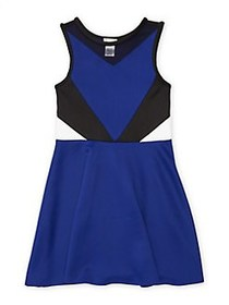 Sally Miller Girl's The Bree Fit-&-Flare Dress SAP