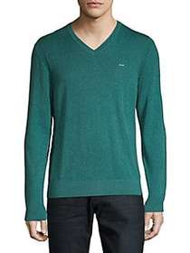 Michael Kors Cotton Pullover ATLAS GREEN