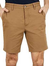 Nautica Classic-Fit Stretch Deck Short OYSTER BROW