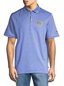 Tommy Bahama Polo Rico Collegiate Striped Polo FLO