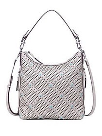 Chinese Laundry Ayo Perforated and Studded Hobo GR