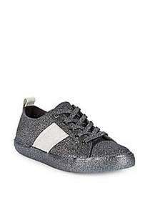 Kendall + Kylie Obey Glitter Lace-Up Sneakers PEWT
