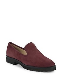 Karl Lagerfeld Paris Imani Tumbled Suede Loafers M
