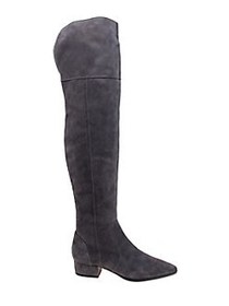 Splendid Ruby Suede Knee-High Boots SLATE