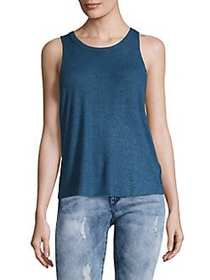 Free People Coziest Tank Top BLUE
