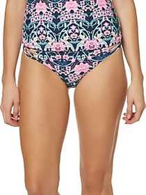 Jessica Simpson Side Lace Bikini Bottom DARK NAVY