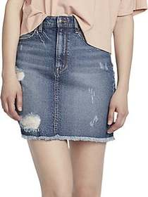 Ella Moss Gwen Denim Mini Skirt BLUE