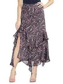 Vince Camuto Sapphire Bloom Printed Skirt CLASSIC
