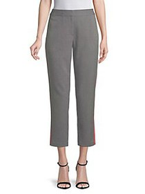 Highline Collective Houndstooth Cropped Pants BLAC