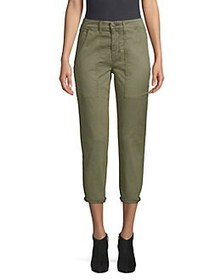 Hudson Jeans Leverage High-Rise Ankle Pants FOREST