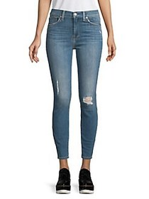7 For All Mankind Moreno Hi-Rise Ankle Jeans GILDE