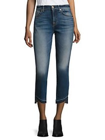 7 For All Mankind Rox Released Hem Ankle Jeans SER